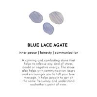 A Beautiful Story Twinkle Zilveren Armband - Blauwe Agaat