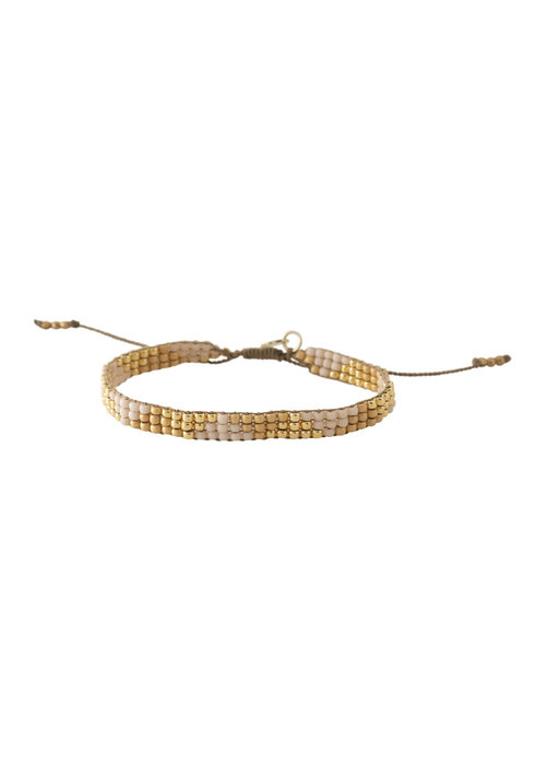 A Beautiful Story A Beautiful Story Sunlight Gold Bracelet - Citrine