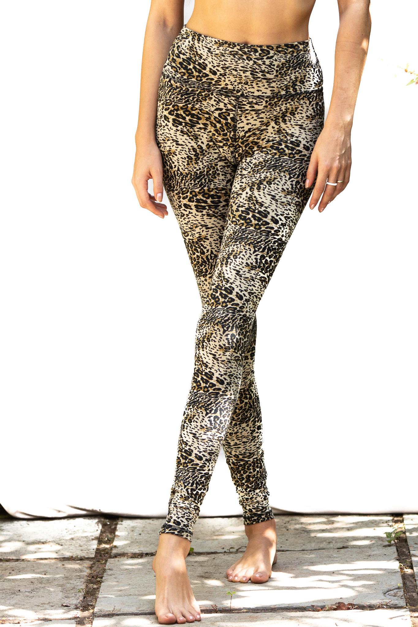 12330ae739f Funky Simplicity High Waist Legging - Cream Leopard