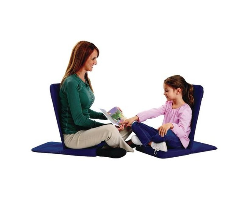 BackJack Extreme Meditation Chair Foldable - Navy