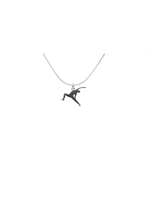 Klenicki Silver Necklace - Reverse Warrior