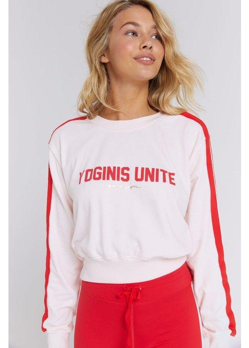 Spiritual Gangster Spiritual Gangster Yoginis Unite Crew Sweatshirt - Warm Glow