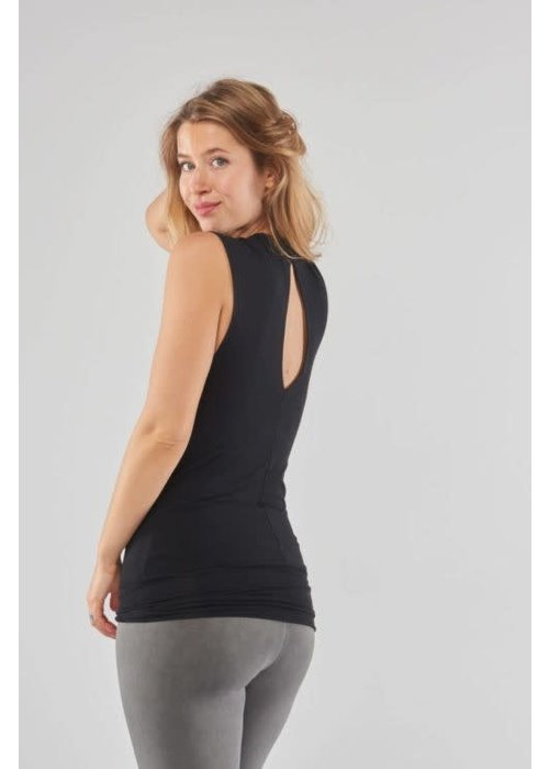 Urban Goddess Urban Goddess Bhav Yoga Top - Urban Black