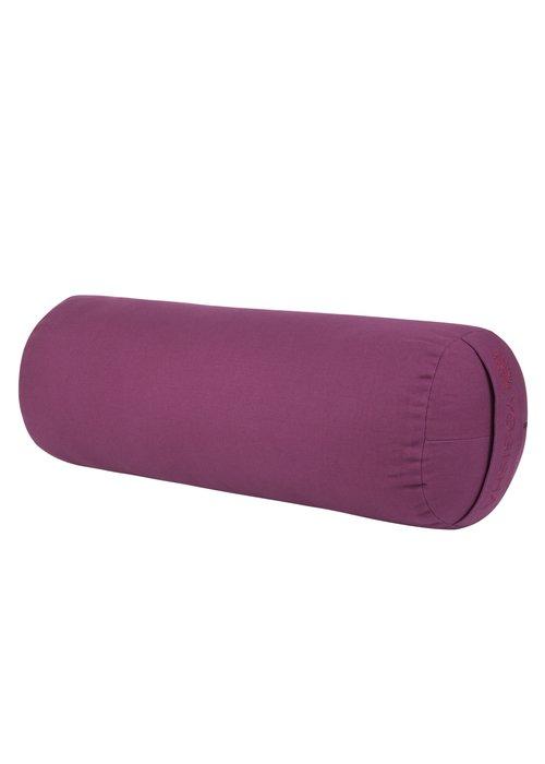 Yogisha Yoga Bolster Kapok - Aubergine