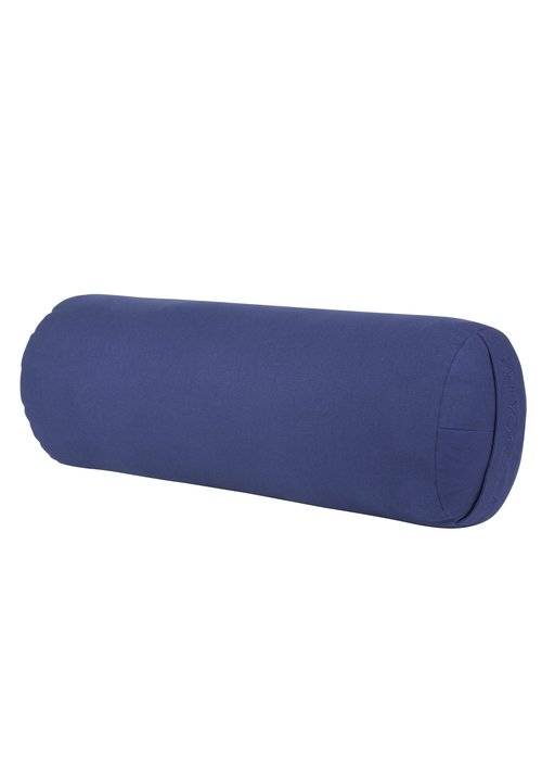 Yogisha Yoga Bolster Rond Kapok - Donkerblauw