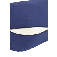 Yoga Bolster Kapok - Donkerblauw