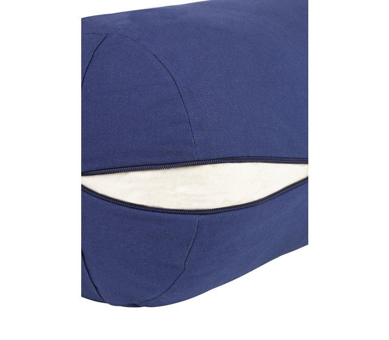 Yoga Bolster Kapok - Dark Blue