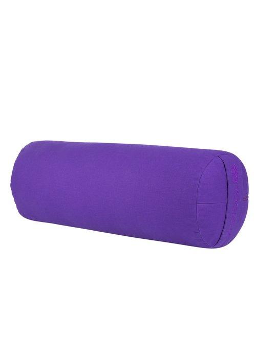 Yogisha Yoga Bolster Kapok - Paars