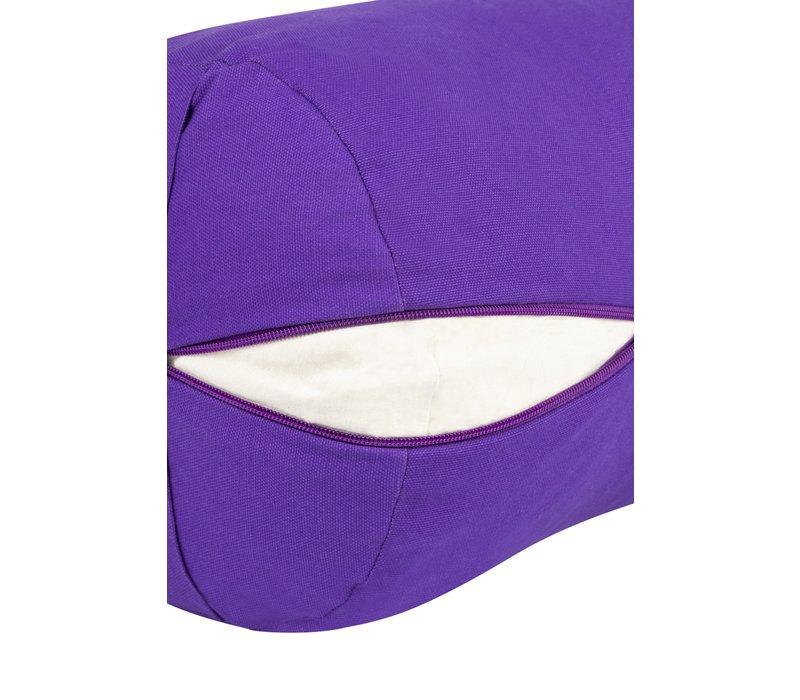 Yoga Bolster Kapok - Purple