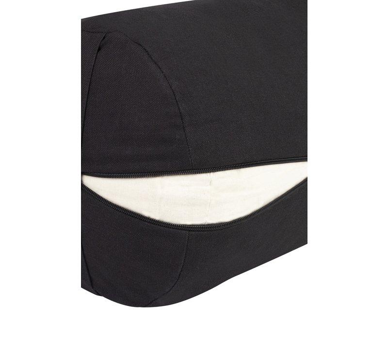Yoga Bolster Kapok - Black