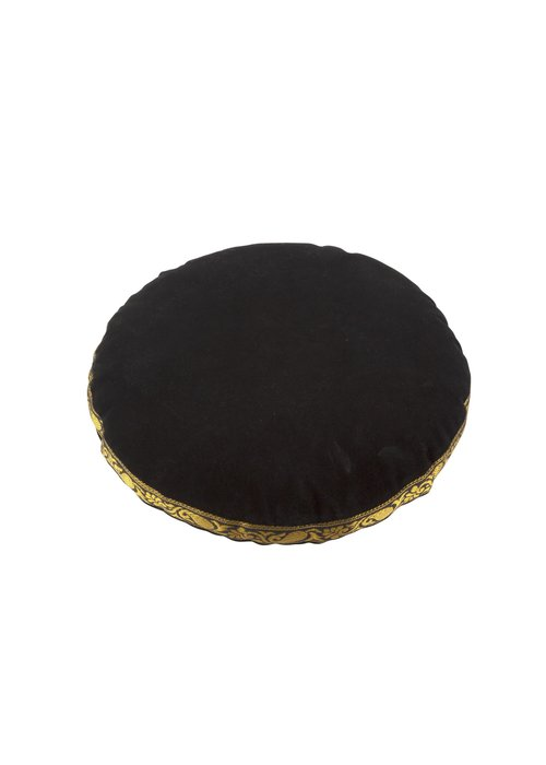 Singing Bowl Cushion Velvet - 23 cm