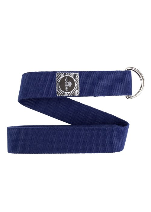 Yogisha Yoga Riem Katoen - Donkerblauw
