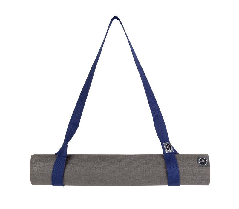 Yogisha Yogamat Draagriem - Donkerblauw