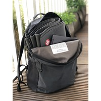 Manduka Pro Travel Yoga Mat 180cm 60cm 2.5mm - Black