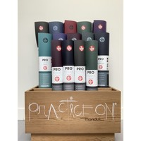 Manduka Pro Travel Yoga Mat 180cm 60cm 2.5mm - Sage