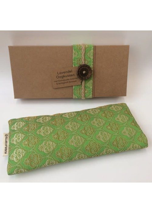 Kusala Kusala Eye Pillow Silk - Light Green