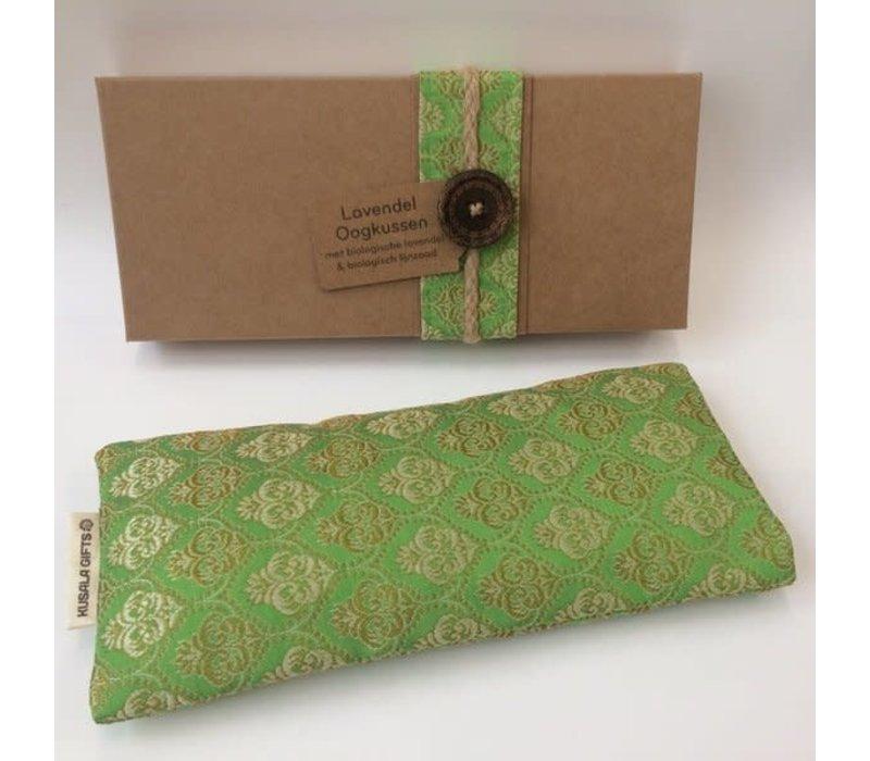 Kusala Eye Pillow Silk - Light Green