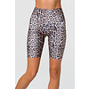 Onzie Onzie High Rise Biker Short - Leopard
