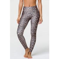 Onzie High Rise Leggings - Leopard