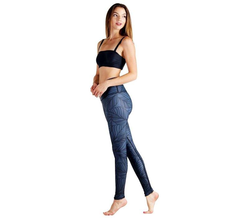 Yoga Democracy Yoga Legging - Urban Camo Slate