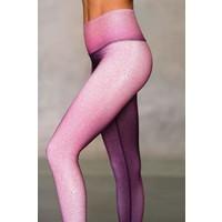 Niyama Sol Barefoot Legging - Shagreen Peony