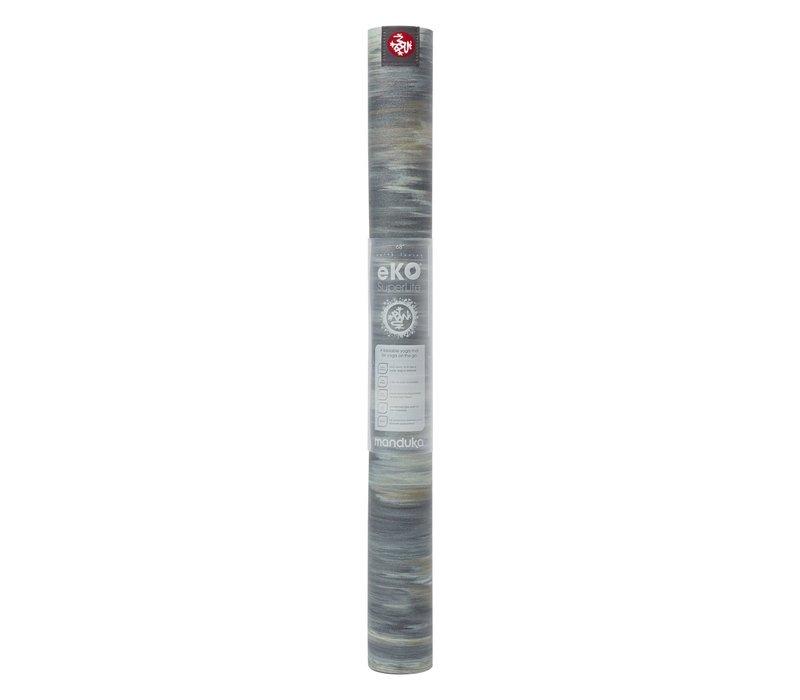 Manduka eKO Superlite Yoga Mat 180cm 61cm 1.5mm - Thunder Marbled