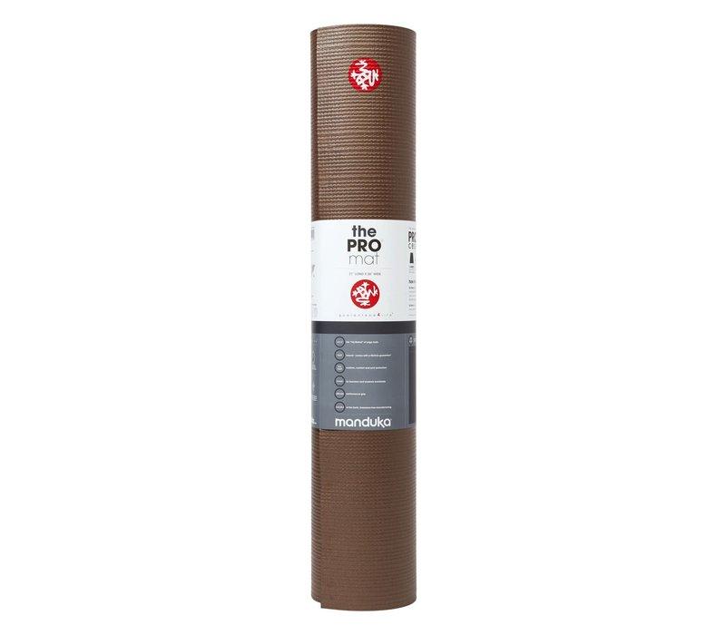 Manduka Pro Yoga Mat 180cm 66cm 6mm - Metallic Brown
