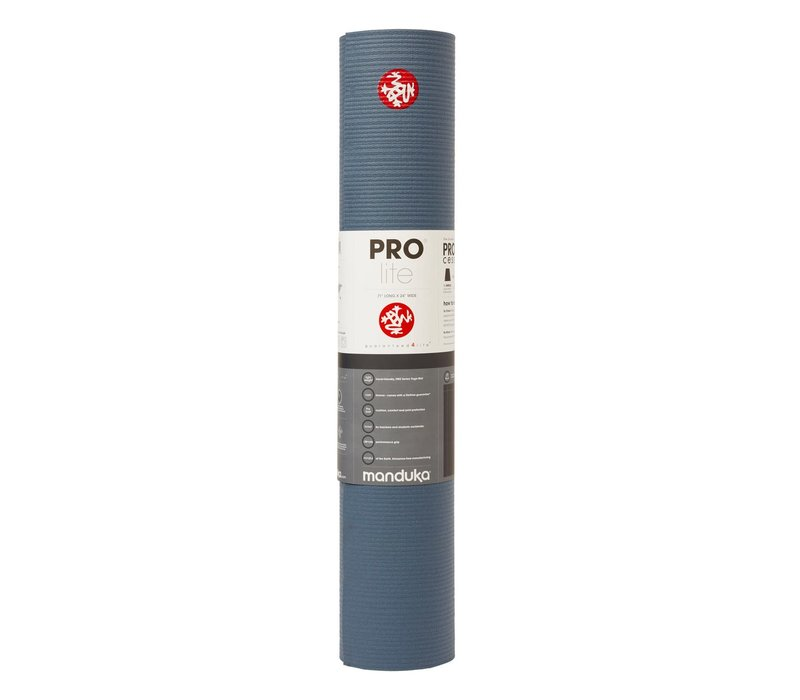 Manduka Prolite Yoga Mat 180cm 61cm 4.7mm - Storm