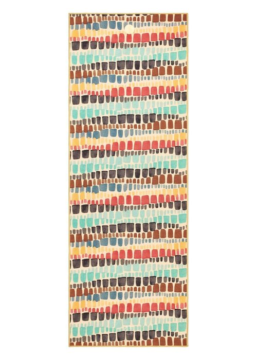 Yogitoes Yogitoes Yoga Towel 172cm 61cm - Binda Squares