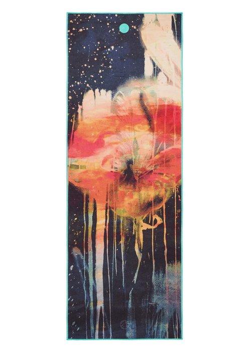 Yogitoes Yogitoes Yoga Towel 172cm 61cm - Floral