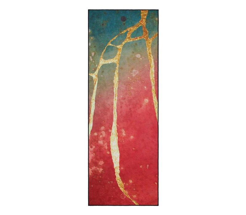 Yogitoes Yoga Handdoek 172cm 61cm - River Gold