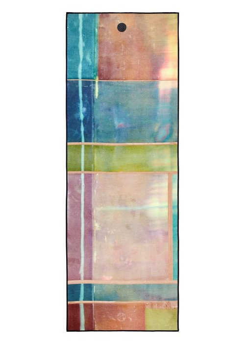 Yogitoes Yogitoes Yoga Towel 172cm 61cm - Stained Glass