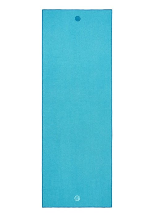 Yogitoes Yogitoes Yoga Handdoek 172cm 61cm - Turquoise