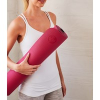 Manduka Begin Yoga Mat 172cm 61cm 5mm - Dark Pink