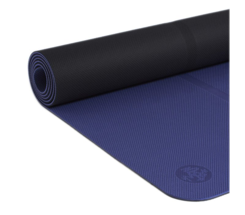 Manduka Begin Yoga Mat 172cm 61cm 5mm - Navy
