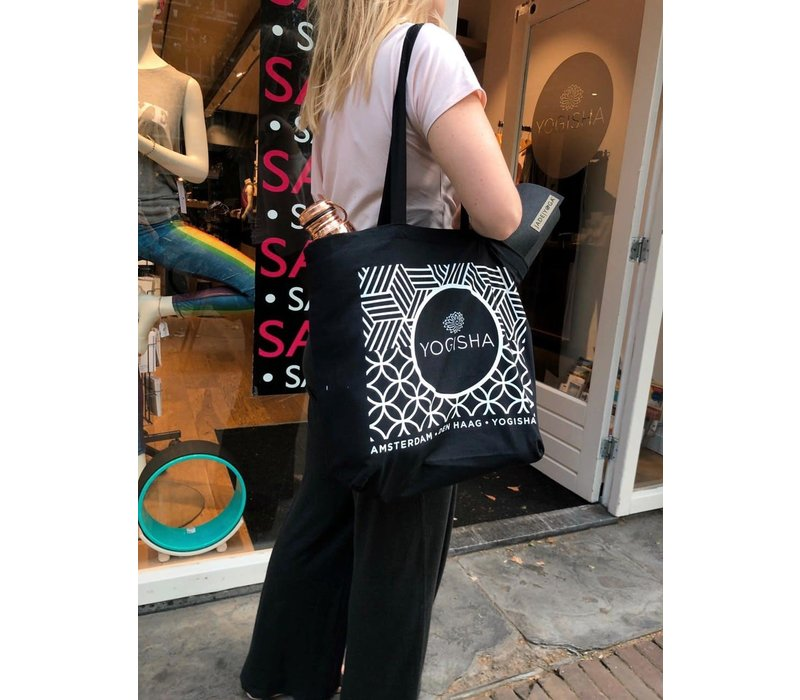 Yogisha Tote Bag - Black