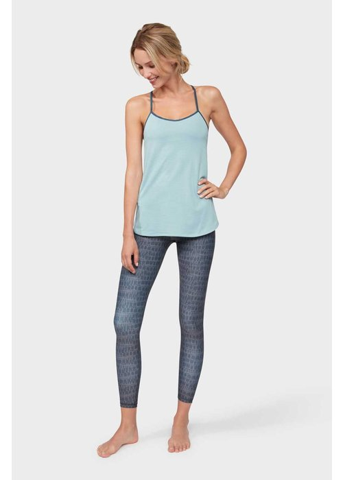 Manduka Manduka Breeze Support Cami - Stone Blue