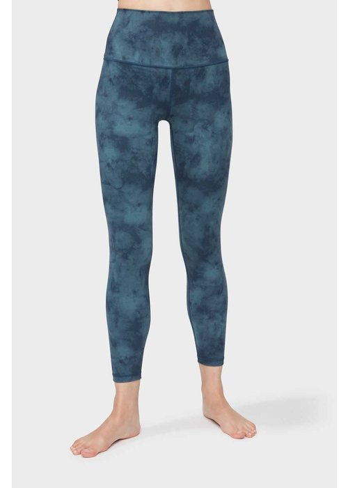 Manduka Manduka Solite High Waist 7/8 Leggings - Nocturnal Sky
