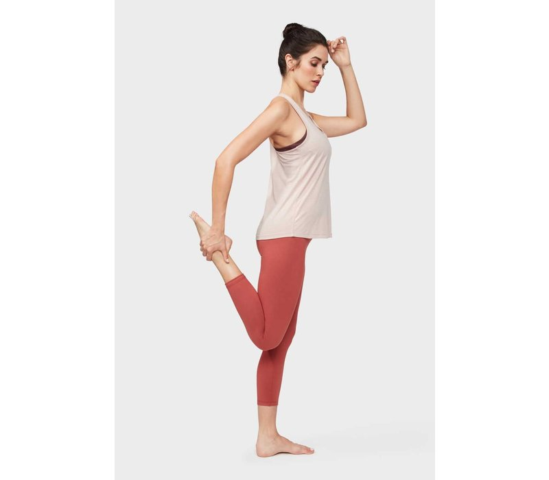 Manduka Breeze Racerback Tank - Bark
