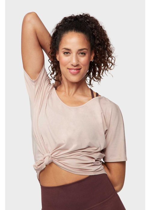 Manduka Manduka Enlight Relaxed Tee - Bark