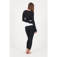Dharma Bums Ballet Wrap Top - Black