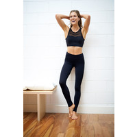 Dharma Bums Wonder Luxe Yoga Legging - Black