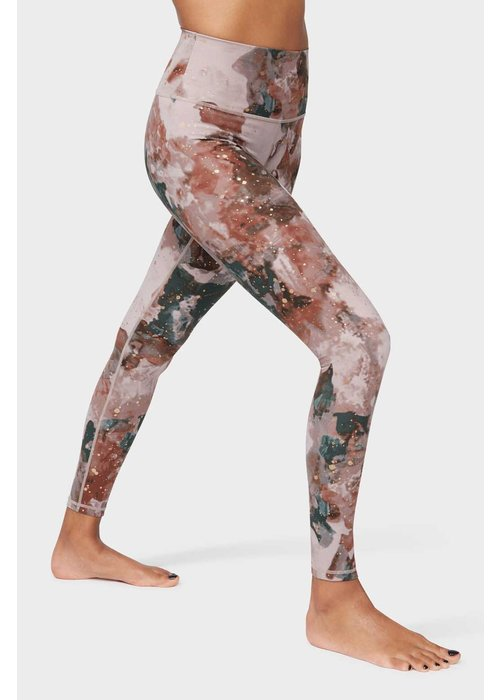 Manduka Manduka High Rise Flow Legging - Luminance Foil