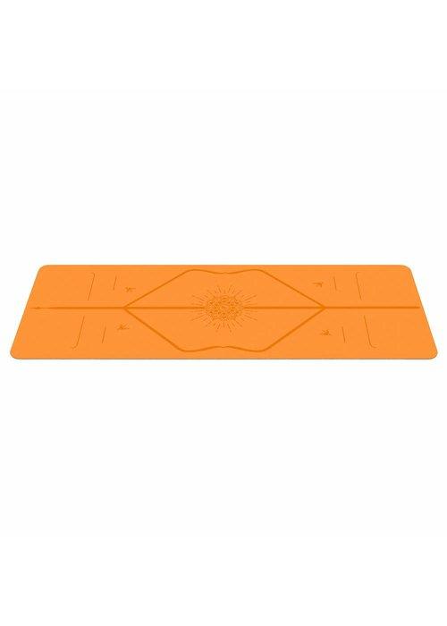 Liforme Liforme Happiness Yogamat 185cm 68cm 4.2mm - Vibrant Orange