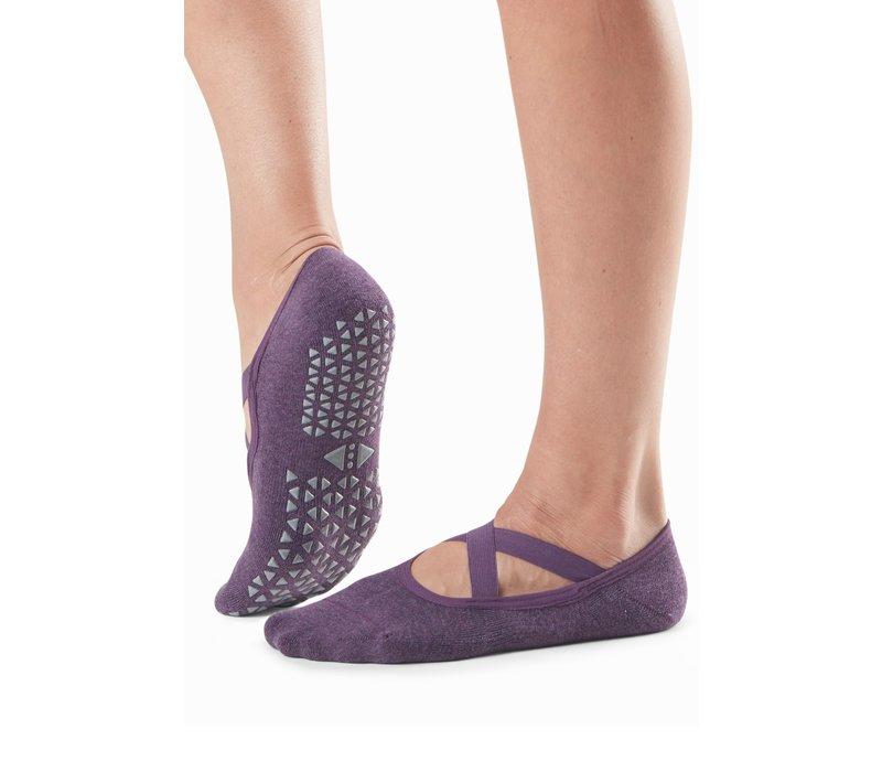 Tavi Noir Antislip Sokken Chloe - Lavender