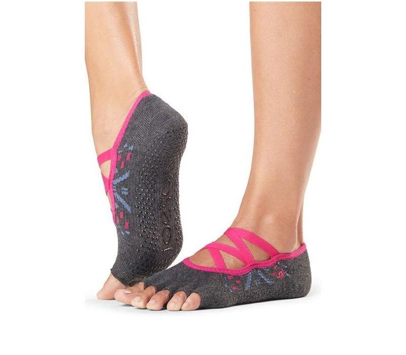 Toesox Yoga Sokken Elle Open Tenen - Festival