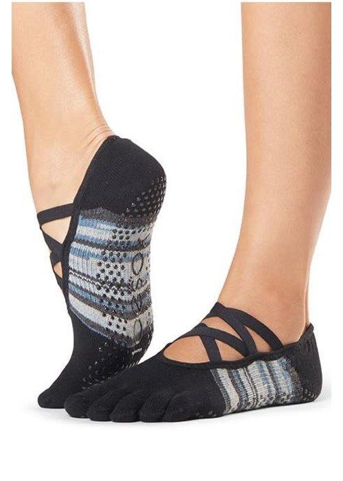Toesox Toesox Yoga Sokken Elle Dichte Tenen - Duet