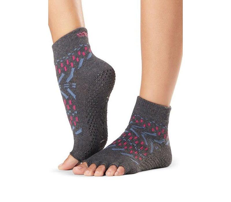 Toesox Yoga Sokken Enkelhoogte Open Tenen - Festival