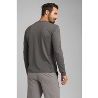 PrAna LS Crew - Charcoal Heather