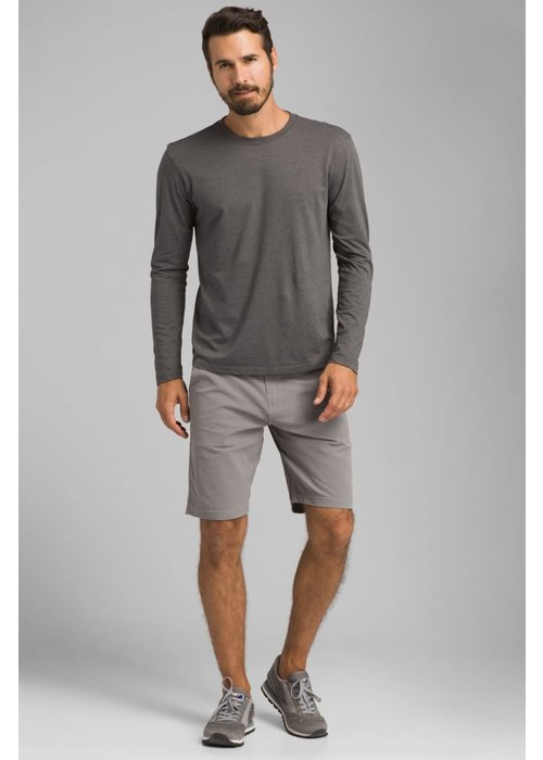 PrAna PrAna LS Crew - Charcoal Heather